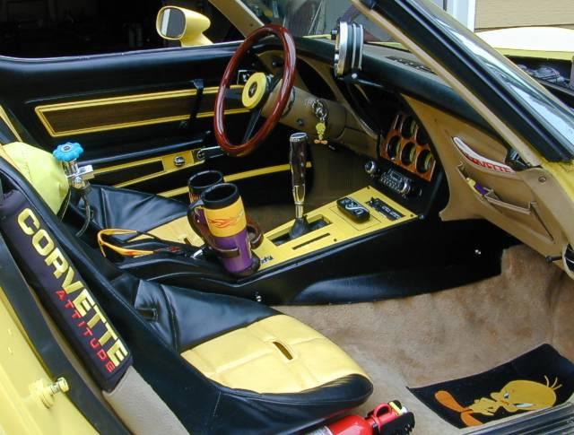 C3 Corvette Custom Interior >> 1977 Corvette