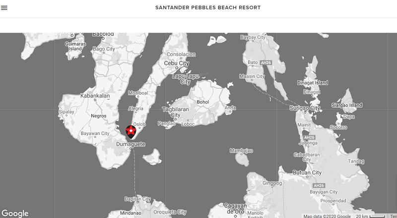 SANTANDER PEBBLES BEACH RESORT, Cebu, Philippines