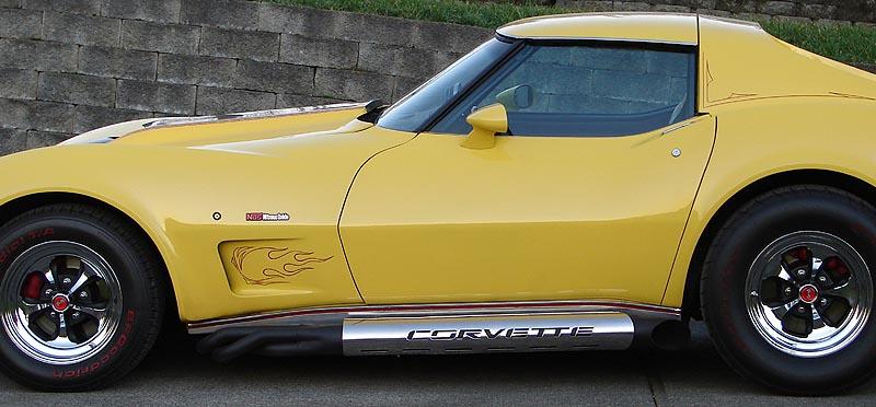 C3 Corvette Forum Fantastic Sidepipe Heatshields